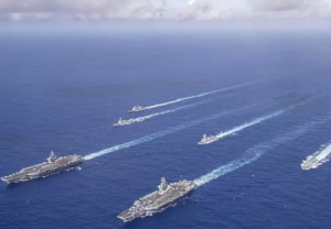 Beijing in tight spot as 2 US aircraft carriers conduct exercise in South China sea