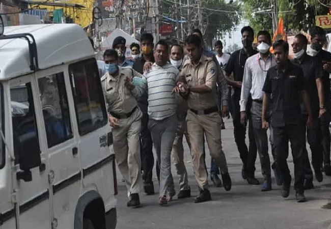 How security guards at Mahakal zeroed in on gangster Vikas Dubey, got him nabbed