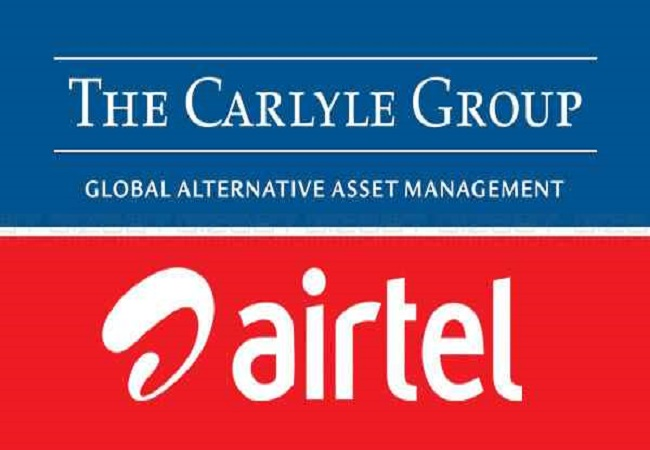Carlyle to acquire 25% stake in Airtel's Data Centre business
