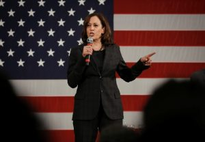 Kamala Harris becomes first African-American, South Asian woman to be nominated on major party's ticket