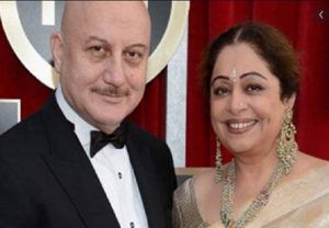Here is what Anupam Kher posted for Kiran Kher on their 35th marriage anniversary
