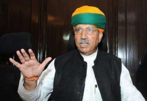 Union Minister Arjun Meghwal tests positive for coronavirus, admitted to AIIMS