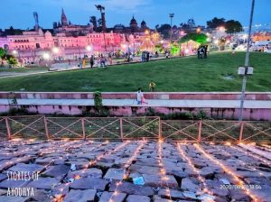 IN PICS: Ayodhya decked up ahead of Ram Temple bhoomi pujan