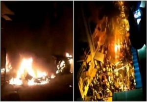 Bengaluru: Two dead, 60 cops injured in clashes over social media post, Sec 144 imposed