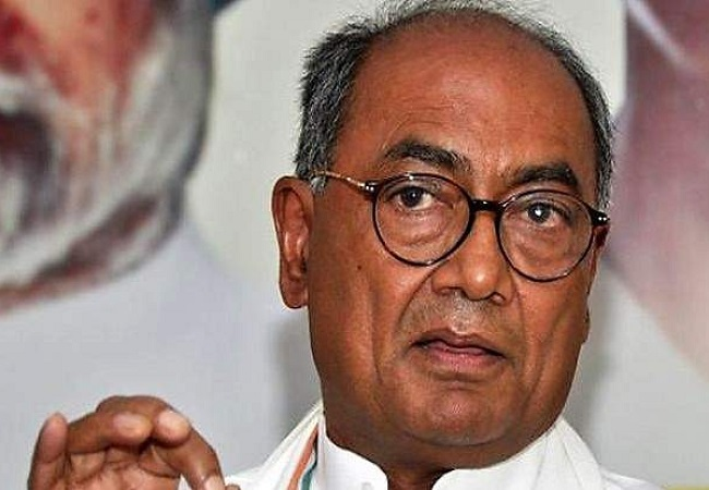 Foundation stone for Ram temple was laid by Rajiv Gandhi: Digvijaya Singh