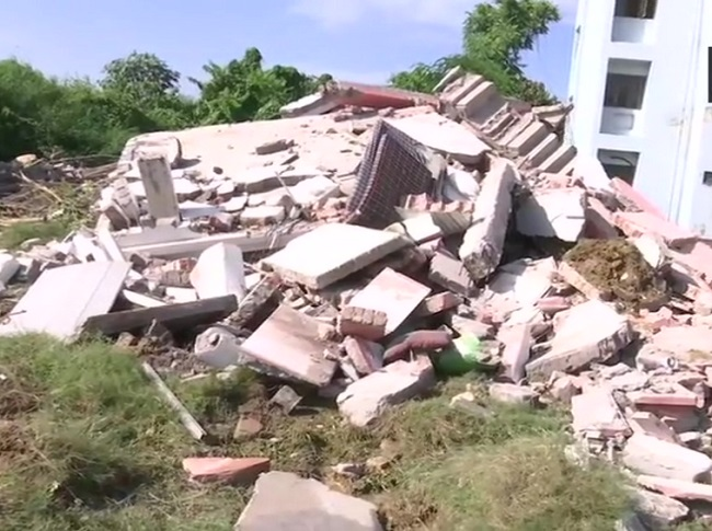 Mukhtar Ansari's house demolished -