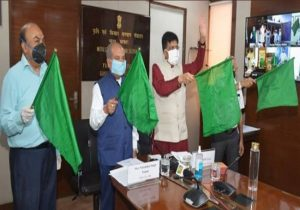 Country's first 'Kisan rail' flagged off, train to ply between Maharashtra and Bihar