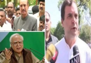 High drama at CWC meet: Rahul's BJP charge, Sibal's tweet rebuttal, Azad's resignation offer