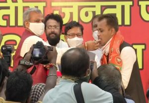 IN PICS: Shahzad Ali, Shaheen Bagh social activist, joins BJP