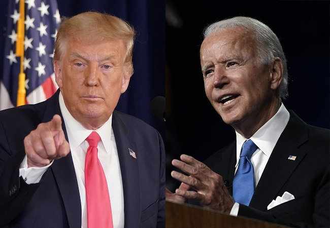 Joe Biden hits out at President Trump over handling of COVID-19 pandemic