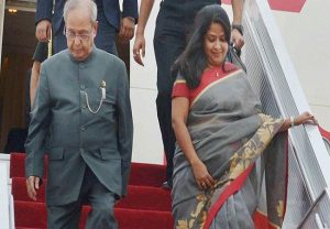 May God do whatever is best for him, give me strength: Pranab Mukherjee's daughter