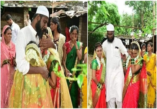 FACT CHECK: Reality behind Bababhai Pathan from Ahmednagar who 'adopted' two 'orphan' girls and got them married