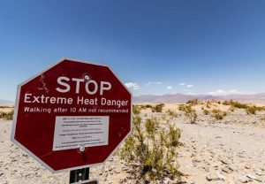 Mercury in Death Valley hits 54.4 degrees Celsius, hottest in US since 1913