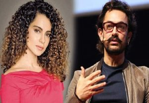 Kangana Ranaut's team takes a dig at Aamir Khan by questioning him on making his kids follow only Islam
