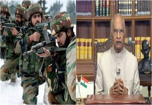 India believes in peace but capable of giving befitting response to any aggression: Prez Kovind