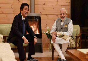 I am deeply touched by your warm words: Shinzo Abe responds to PM Modi