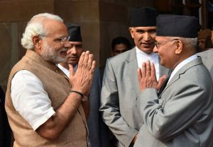 Nepal PM calls PM Modi, extends greetings on India's 74th Independence Day