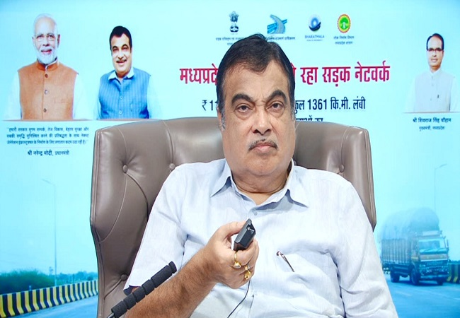 Nitin Gadkari inaugurates, lays foundation stone for 45 highway projects for Madhya Pradesh