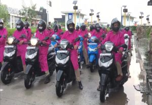 Women police squads to patrol Noida on scooters