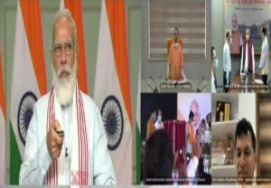 PM Modi inaugurates new infrastructure of Rani Lakshmi Bai Central Agricultural University, Jhansi