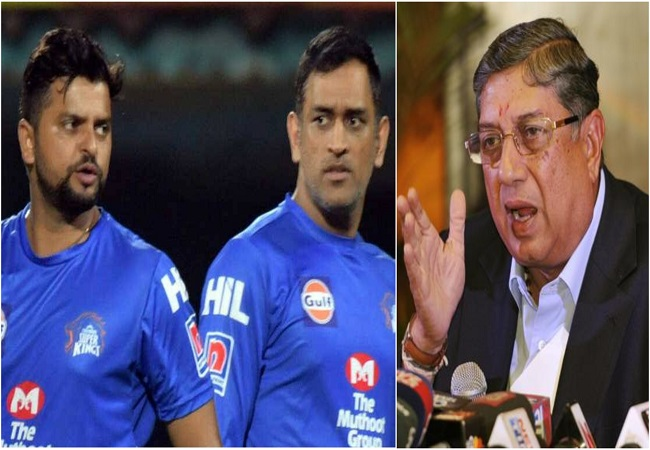 Raina pulled out of IPL 2020 due to rift over hotel room? N Srinivasan says 'sometimes success gets into head'