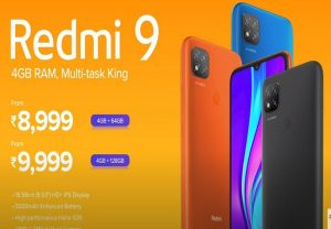 Redmi 9 with dual rear cameras, 5,000mAh battery launched in India: Check out Price, Specs