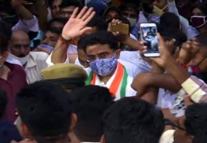 Sachin Pilot greeted with chants of 'I love you' by supporters in Jaipur