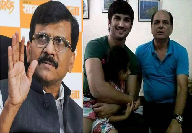 Sushant Singh Rajput was not happy with father KK Singh's second marriage, claims Sanjay Raut
