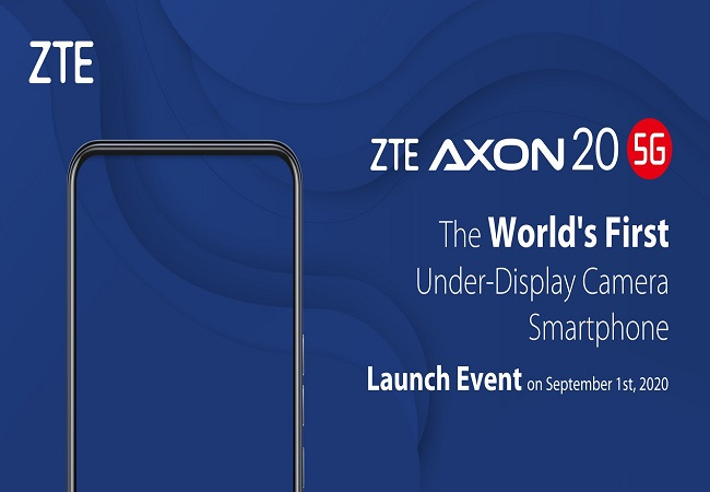 Check out ZTE Axon 20 5G, world's first smartphone with under-display camera