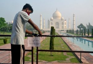 Taj Mahal opens with all COVID-19 norms in place | See Pics