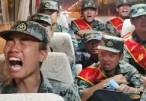 'Spooked' Chinese PLA troops seen crying while heading to Ladakh border… WATCH VIDEO