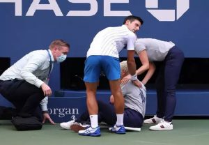 Novak Djokovic issues apology after being disqualified from US Open after shot hits line judge