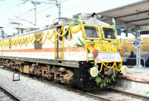 First Kisan train from South India leaves Andhra Pradesh with fruits & vegetables for Delhi
