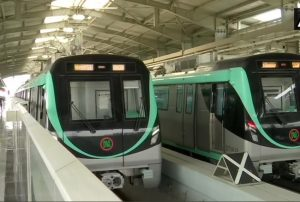 IN PICs: Metro services resume after 6 months hiatus