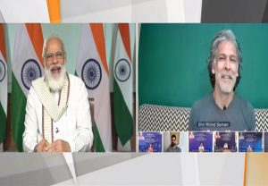"""Are you really that old?"": PM Modi jokingly asked Milind Soman; how the latter reacted"