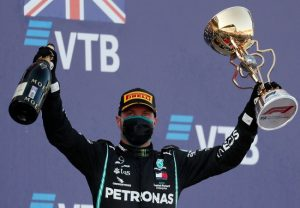 F1: Valtteri Bottas wins Russian Grand Prix as Hamilton misses win record