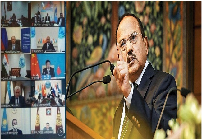 NSA Ajit Doval walks out of SCO, says 'blatant violation' of charter after Pakistan uses 'fictitious map'