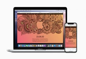 Apple online store will go live in India on September 23