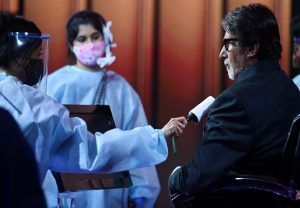"Amitabh Bachchan back to Kaun Banega Crorepati 12 shoot with ""maximum safety precautions"""