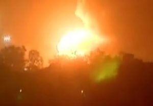 3 blasts at ONGC Hazira Plant in Surat which led to fire; no casualty or injury reported