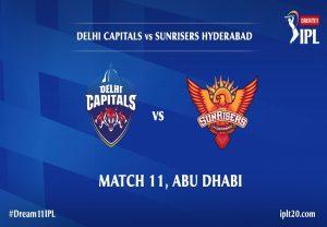 IPL 2020 DC vs SRH: Head To Head Match Stats
