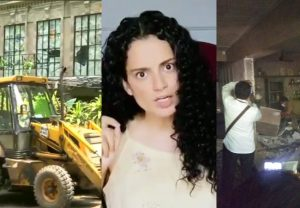 """Babur and his army"", ""My Mumbai is PoK now"": Kangana Ranaut on Demolition work at Office"