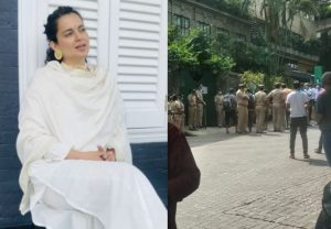 'Maha government and their goons are at my property to illegally break it down': Kangana Ranaut