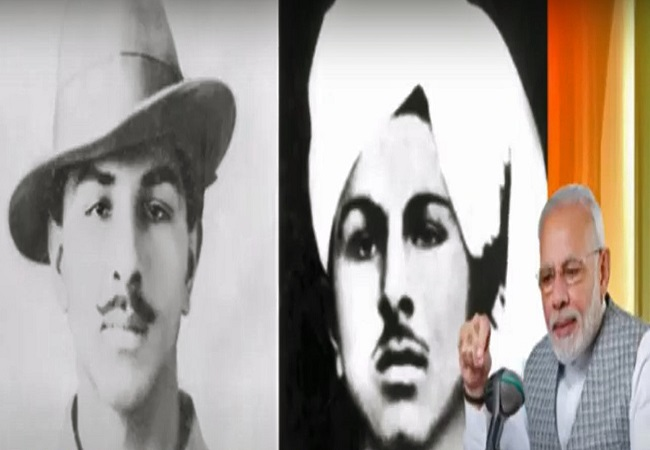Bhagat Singh 113th Birth Anniversary Pm Modi Amit Shah And Other Leaders Pay Tribute