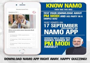PM Modi's birthday: BJP announces 'Know Namo' quiz, winners to get books signed by PM