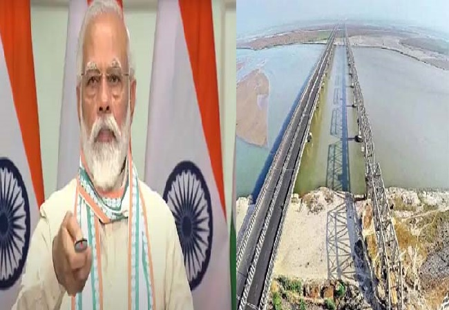 PM Modi dedicates historic Kosi Rail Mahasetu to the nation