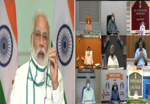 Need to increase focus on testing, tracing, treatment & surveillance, says PM Modi in Covid-19 review meet with CMs