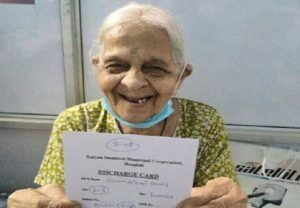 Maha: 106-yr-old woman wins battle against COVID-19