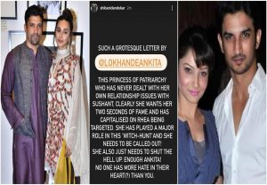 Farhan Akhtar's girlfriend Shibani Dandekar attacks Ankita Lokhande over SSR, says she 'wants 2 seconds Of fame'