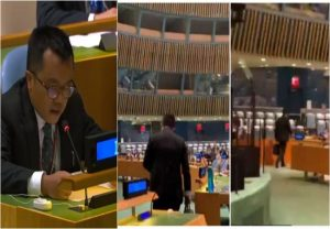 Indian Envoy walks out as Pak PM Imran Khan begins speech at UNGA